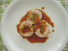 ギョウジャニンニク風 若鶏のホイル焼き