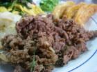 No.031 牛肉のチリチリステーキ